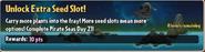 Unlock Extra Seed Slot!