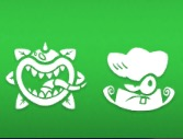 Chompzilla and Grass Knuckles icons