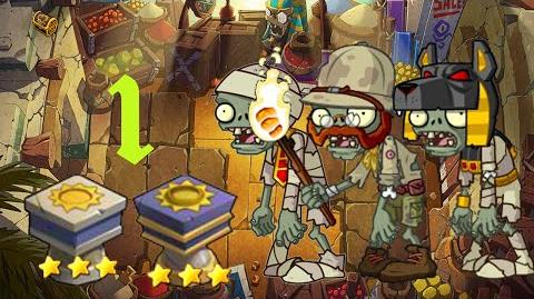 PvZ Online - Adventure Mode - Egyptian Market 1
