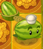 Melon-pult on Gold