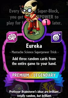 Eureka statistics