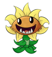 Primal sunflower fanart