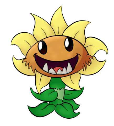 File:Primal sunflower fanart.png