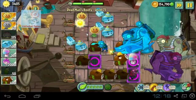File:Dead Man's Booty Level 071 battle of Hypno-Shroom Plants vs Zombies 2-19-50-44-.JPG