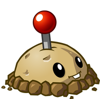 File:Plants vs zombies 2 potato mine by illustation16-d7gp799.png