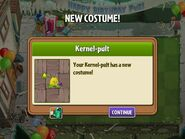 Getting Kernel-pult Birthday Costume