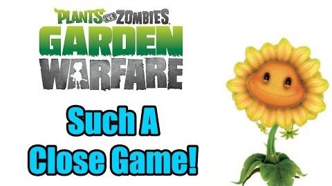 Plants Vs Zombies Garden Warfare - Such A Close Game!