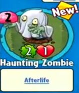 Receiving Haunting Zombie