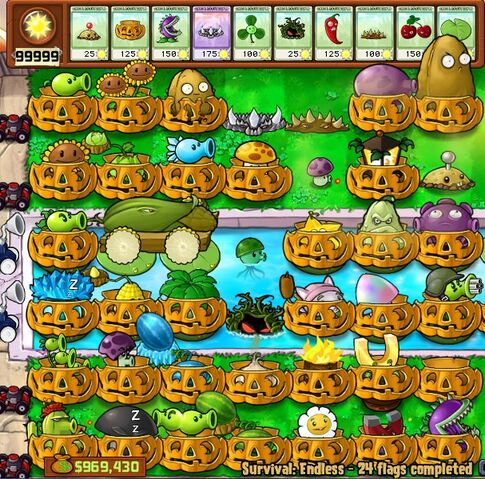 File:All the plants vs zombies plants except the jalapeno,cherry bomb,blover and imitater.jpg