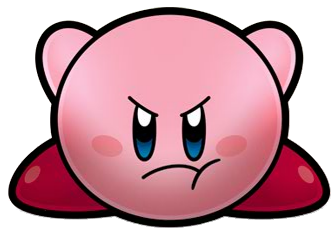 File:Angry Kirby Crouching Super Star Ultra Artwork.png