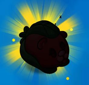 File:Hibernating Beary silhouette.png