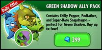 Green Shadow Ally Pack