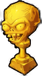 Zomboss Defeated Trophy