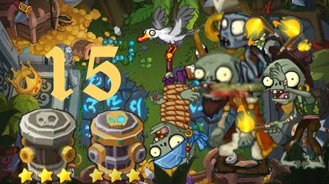 PvZ Online - Adventure Mode - Treasure Island 15