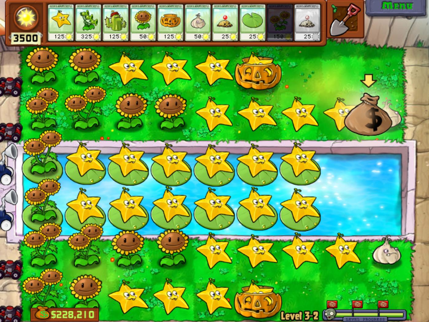 Fruit vs zombies - Starfruit