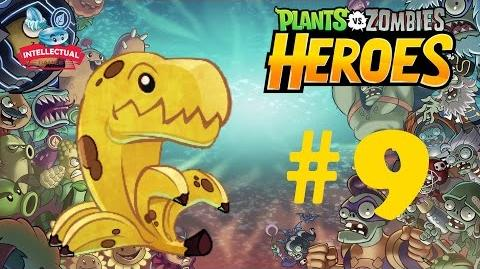 Plants vs Zombies Heroes Part 9 Premium Pack and Bananasaurus Rex