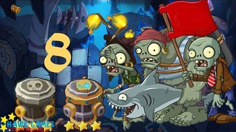 PvZ Online - Adventure Mode - Treasure Cave 8