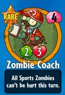 Receiving Zombie Coach