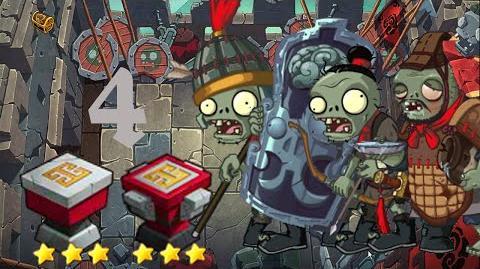 PvZ Online - Adventure Mode - Battle of the Great Wall 4