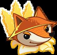 Fox plantfood close up