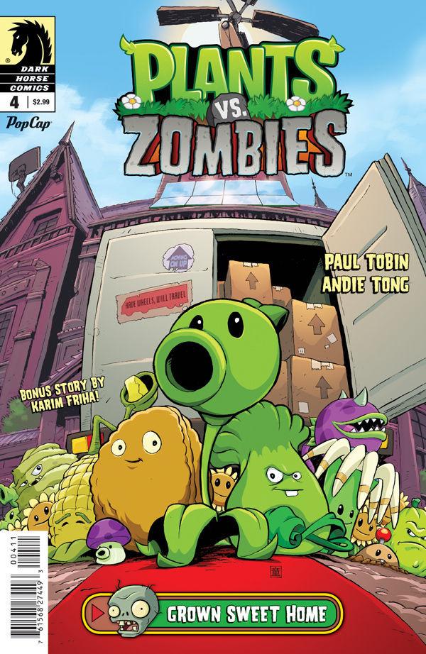 Plants Vs Zombies Grown Sweet Home Plants Vs Zombies