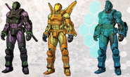 Drone Variations Concept Art