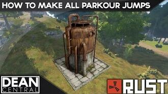 All Rust Monuments Parkour Jump Guide Radtown & Dome