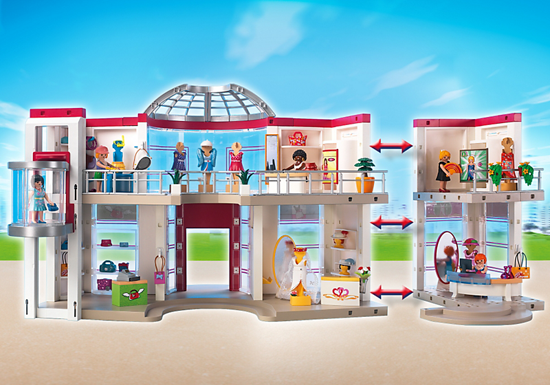 Shopping Center 5485 Playmobil Wiki Fandom Powered By