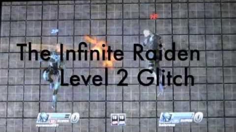 PlayStation AllStars Battle Royale - Raiden Infinite Level 2 Super Glitch