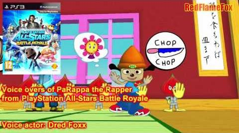 PlayStation All-Stars Battle Royale PaRappa the Rapper Voice Over