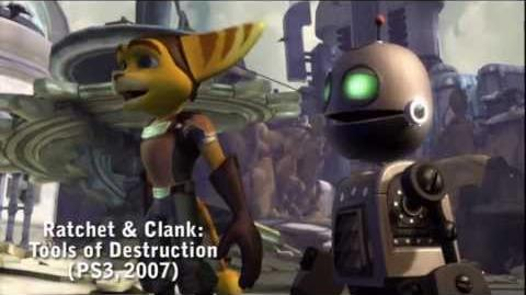 PS All-Stars Battle Royale Origins - Ratchet & Clank