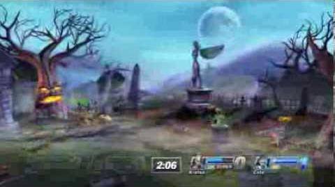 PS All-Stars Battle Royale History - The Graveyard (Stage)