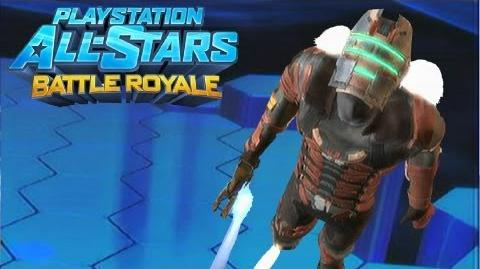 "Playstation All Stars Battle Royale Isaac Clarke ""Advanced R.I.G"