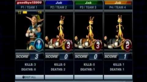 Playstation AllStars Battle Royale - Jak's Colors (Preorder Costume)