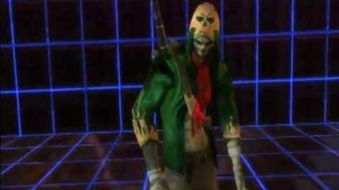 Playstation AllStars Battle Royale - Evil Cole's Colors (Unlockable Costume)