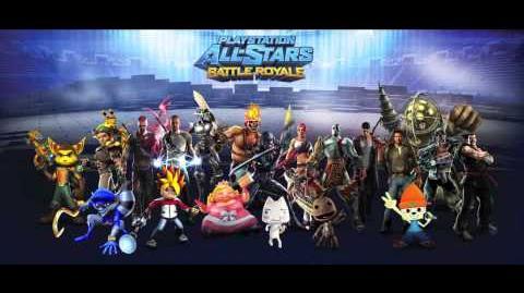 Playstation All-Stars Battle Royale Music Black Rock Stadium - Twisted Metal