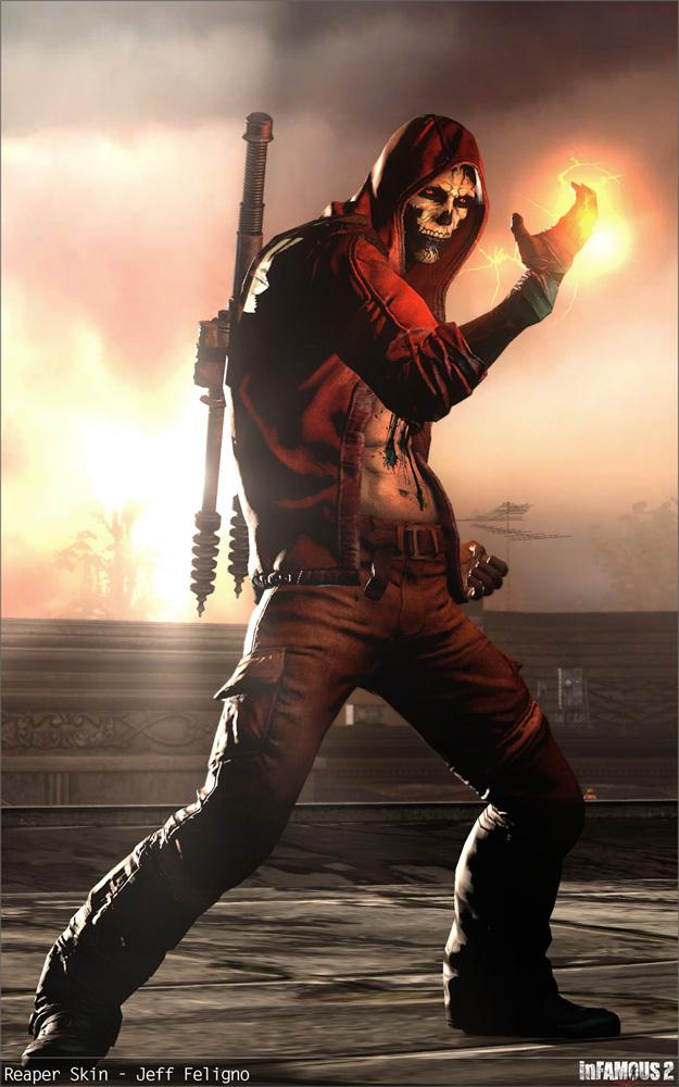 Reaper Cole | PlayStation All-Stars Wiki | Fandom powered ...