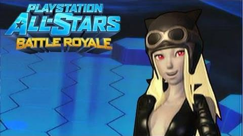 """Playstation All Stars Battle Royale Kat """"The Dark Cat"""" Costume Review (Commentary) (PS3)"""