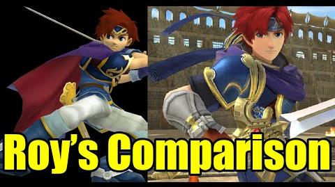 Roy's Full Comparison (Melee VS Wii U) Moveset, Graphics, Voice and MORE! (Super Smash Bros)
