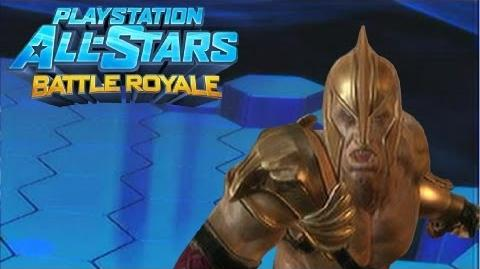 """Playstation All Stars Battle Royale Kratos """"Warrior of Apollo"""" Costume Review (Commentary) (PS3)"""