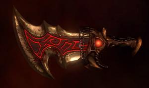 Blades of Athena Render