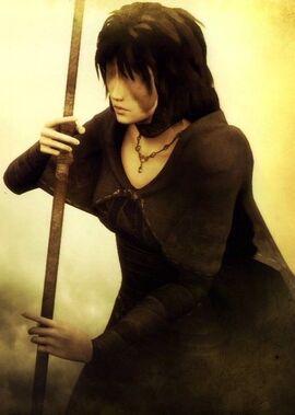 The Maiden in Black