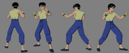 Yusuke reference sheet 1 yyhf by game art edited art-d3bjykc