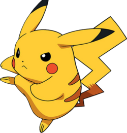 Pikachu render by animesennin-d5e3qko