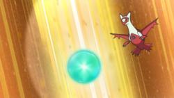 Nurse Joy's Latias Dragon Pulse