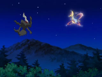 Darkrai and Cresselia