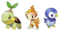 Sinnoh Starter Pokémon