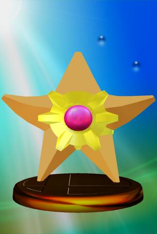 File:Staryu trophy SSBM.png