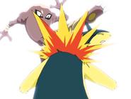 Shinji Hitmonlee Rolling Kick