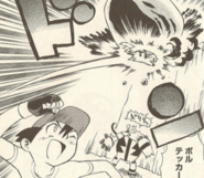 Ash's Pikachu Volt Tackle DP